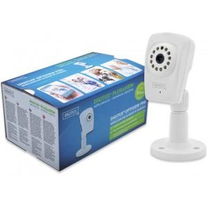 DIGITUS Plug&View OptiView Pro 1 Megapixel H.264 IP 11N Day & Night Cube camera Max 1280 x 720, 25fps, 5V