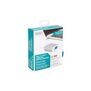 USB Type-C 1080p VGA Adapter Aluminium Housing, 20cm cable length Chipset. VL100 + IT6513