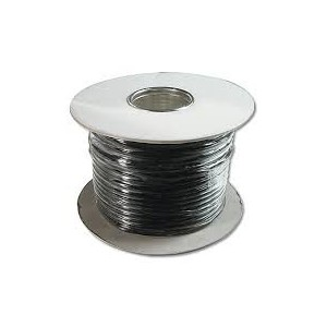 Modular Flat Cable, 6 Wire Length 100 M, AWG 26 bl