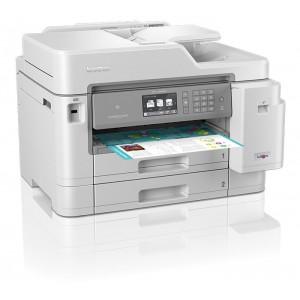 Brother MFC-J5945DWZ - Multifunções de tinta A4, WiFi, impressão até A3, dupla bandeja, duplex até A4 em todas as funções