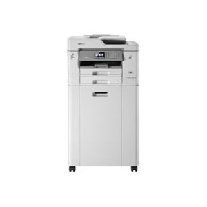 Brother MFC-J6945DWZ - Multifunções de tinta profissional até A3, WiFi, dupla bandeja, tinteiros XL e base com arrumação -