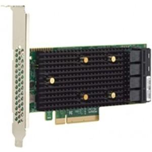 Broadcom HBA 9400-16i - Controlador de memória - 16 Canal - SATA 6Gb/s / SAS 12Gb/s baixo perfil - 12 Gbit/s - PCIe 3.1 x8
